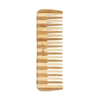 Cala brand 150 MM wide tooth bamboo comb